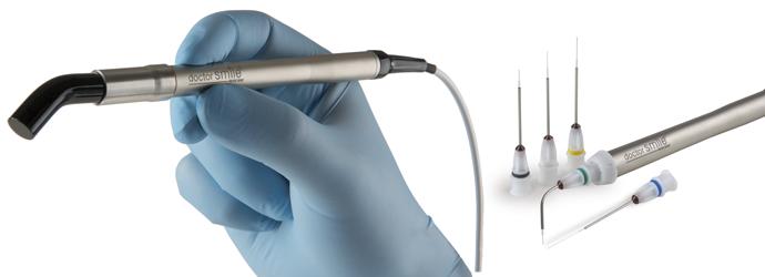 Manipolo e Tips laser dentale