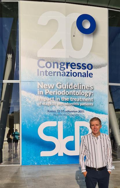 Dott. Pellizzari congresso internazionale di Parodontologia 2021